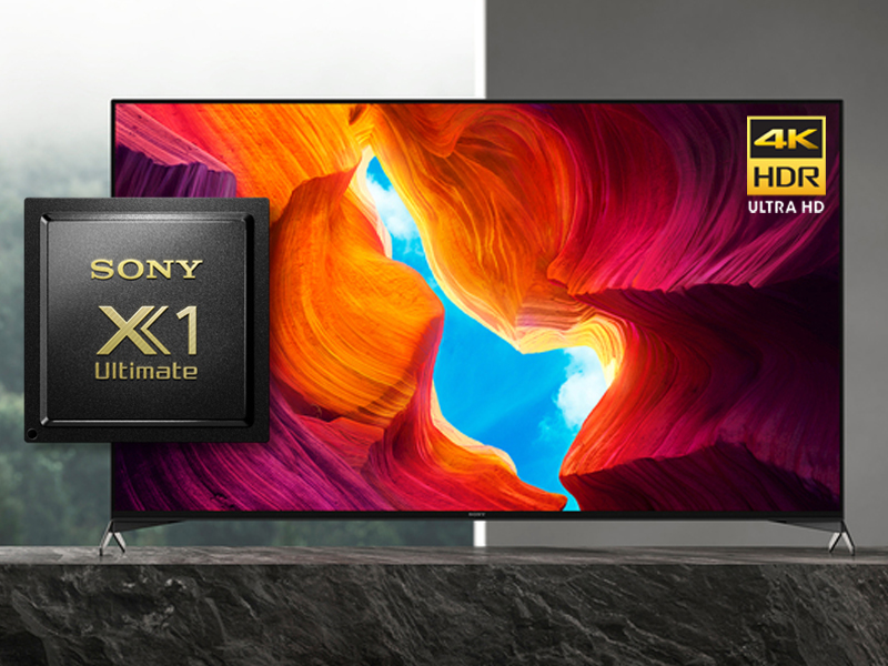 Sony 950H LED TV X1 Ultimate