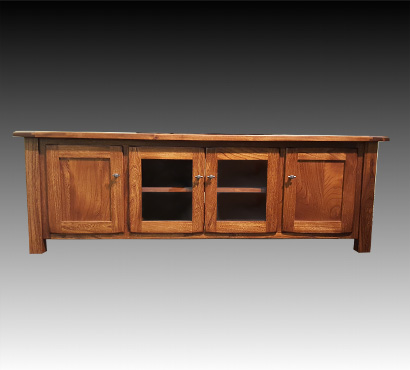 Ashery Oak 60-inch Amish TV Stand