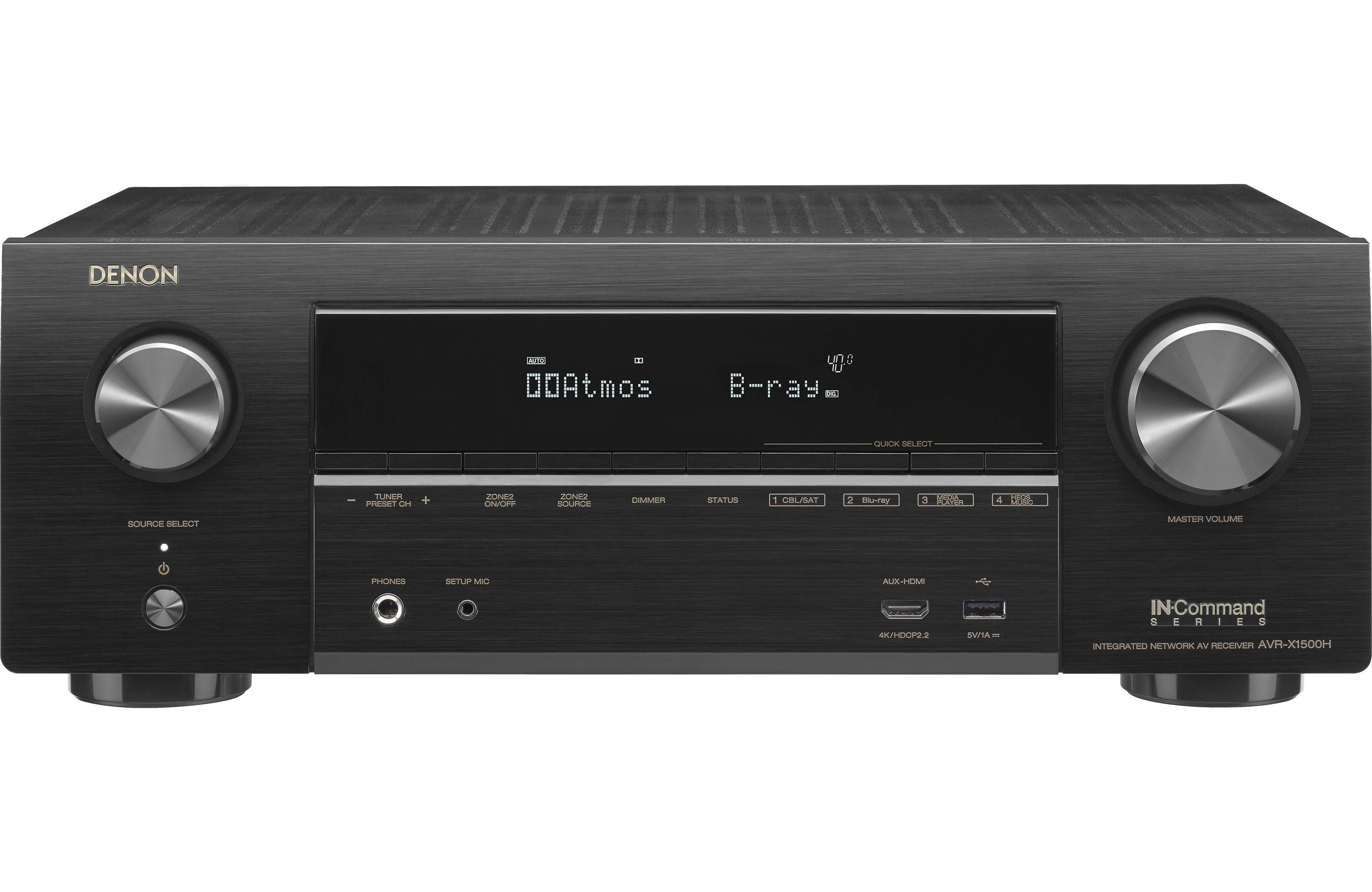 Denon AVR-X1400H Home Theater Receiver
