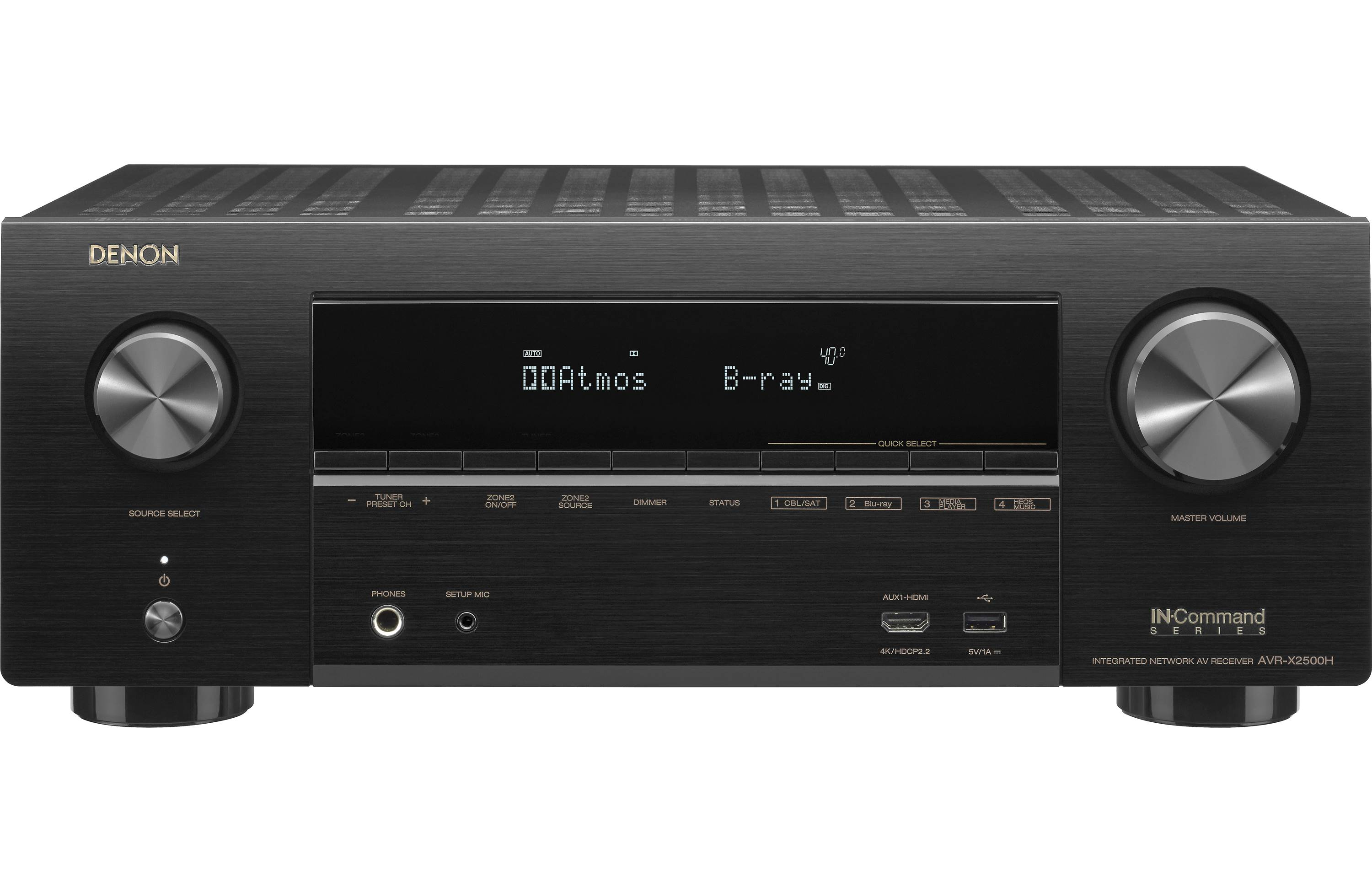 Denon AVR-X2500H Home Theater Receiver
