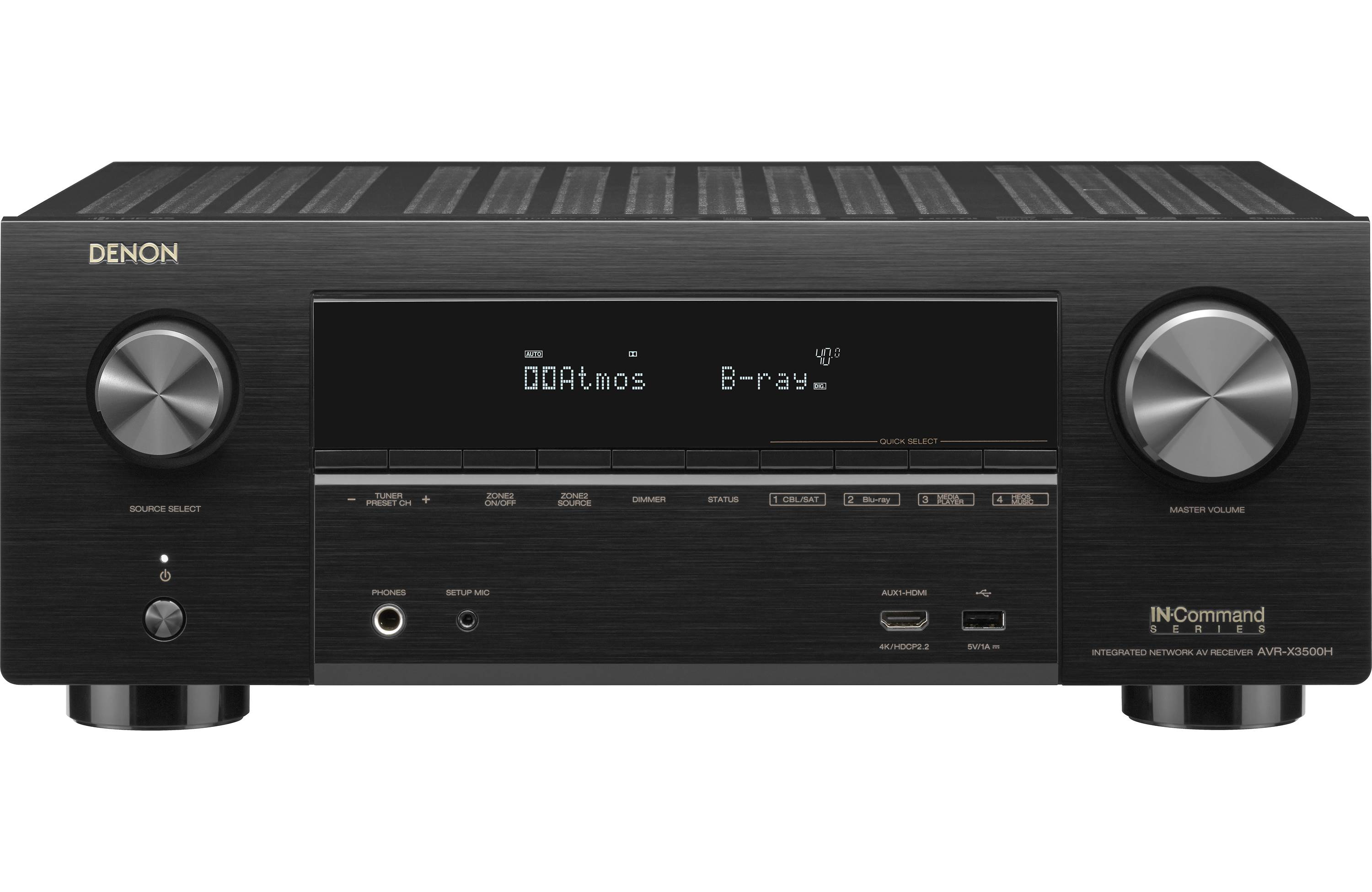 Denon AVR-X3500H Home Theater Receiver