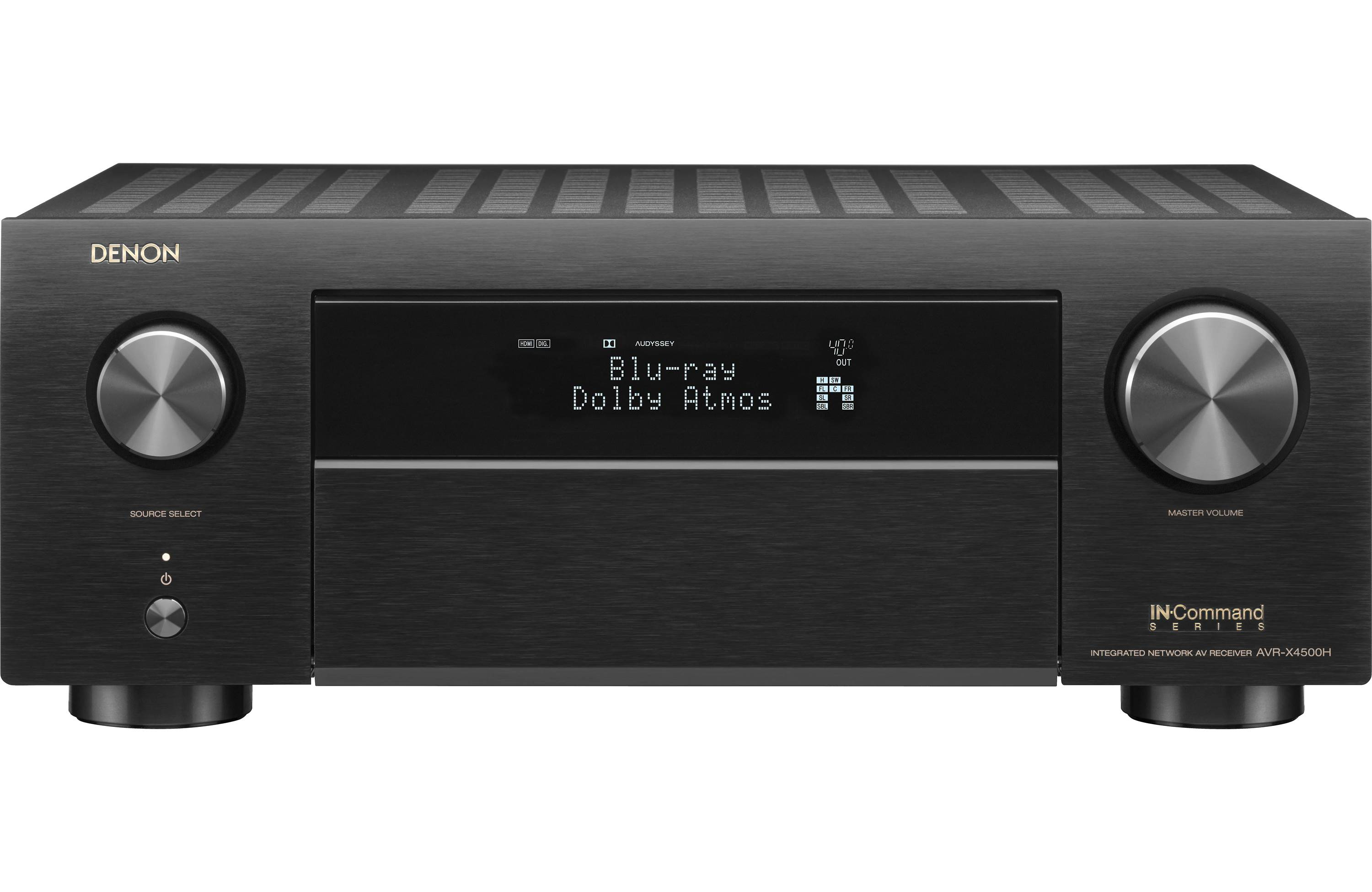 Denon AVR-X4500H 9.2-Channel Home Theater Receiver