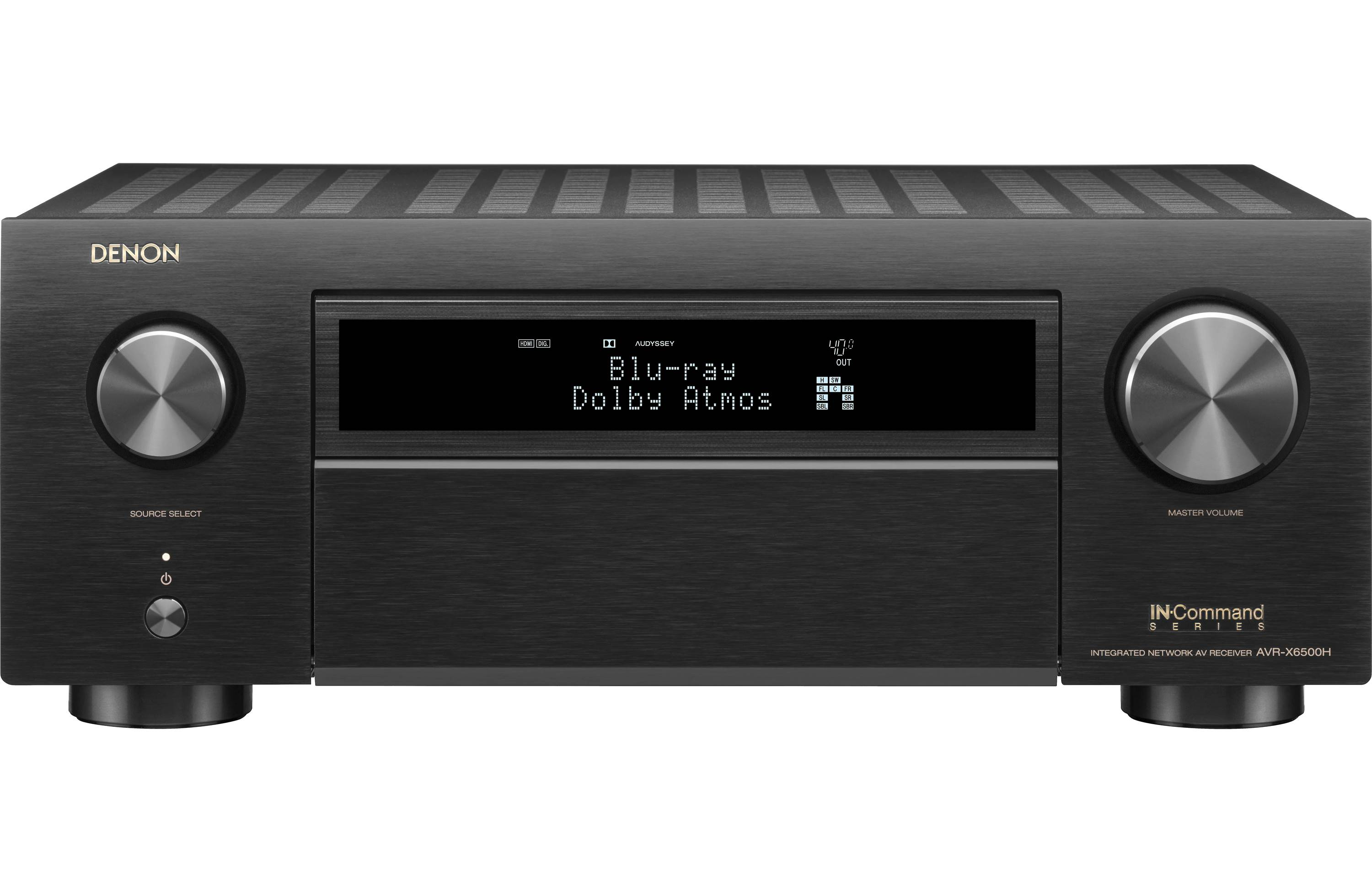 Denon AVR-X6500H 11.2-Channel Home Theater Receiver