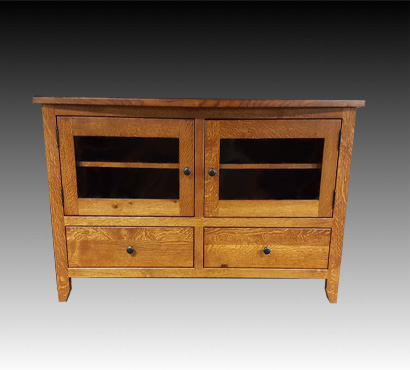 Ashery Oak 50-inch Amish TV stand