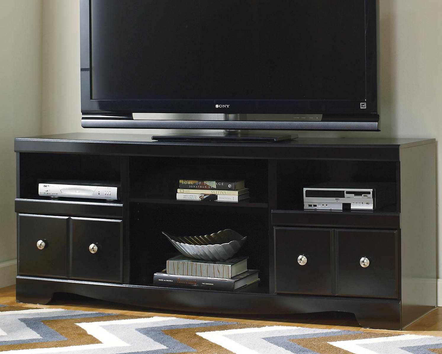 Ashley Furniture Shay Series 38 inch corner TV stand