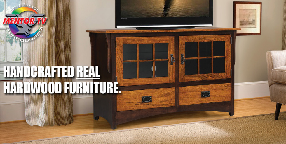 Mentor Tv Amish Furniture Tv Stands Tv Consoles