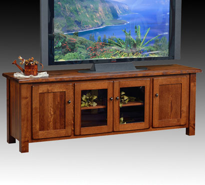 Ashery Oak 70-inch Amish TV Console