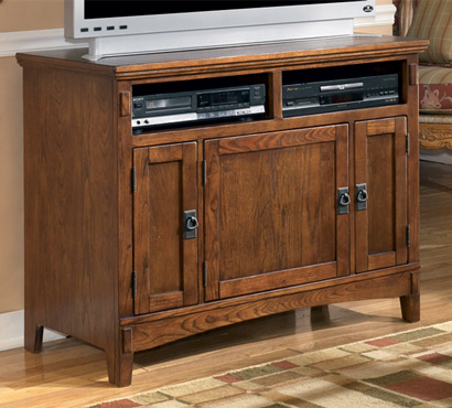 ashley cross island series 42inch tv stand