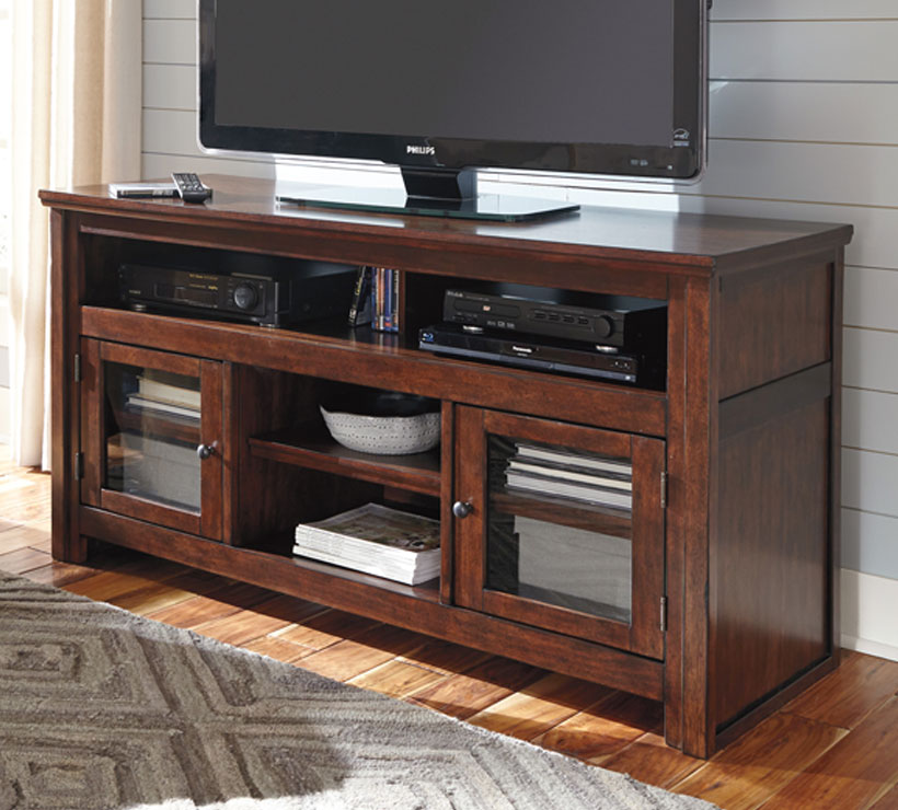 Mentor Tv Ashley Furniture W797 38 Harpan Series 60 Tv Stand