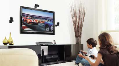 Flat Panel Home Theater System