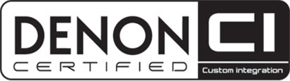 Denon Custom Installation Certified Logo