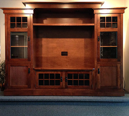 Integ Wood Products Rockford Entertainment Center