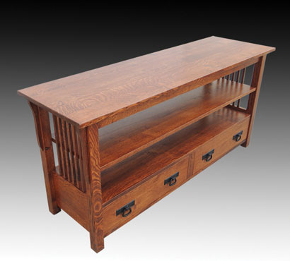 Jericho Shaker Style 56-inch Amish TV Stand