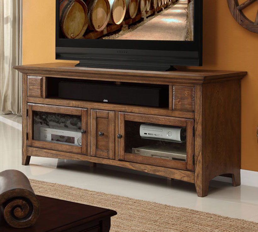 Legends Furniture Vineyard Series 62 Inch Home Theater Stand