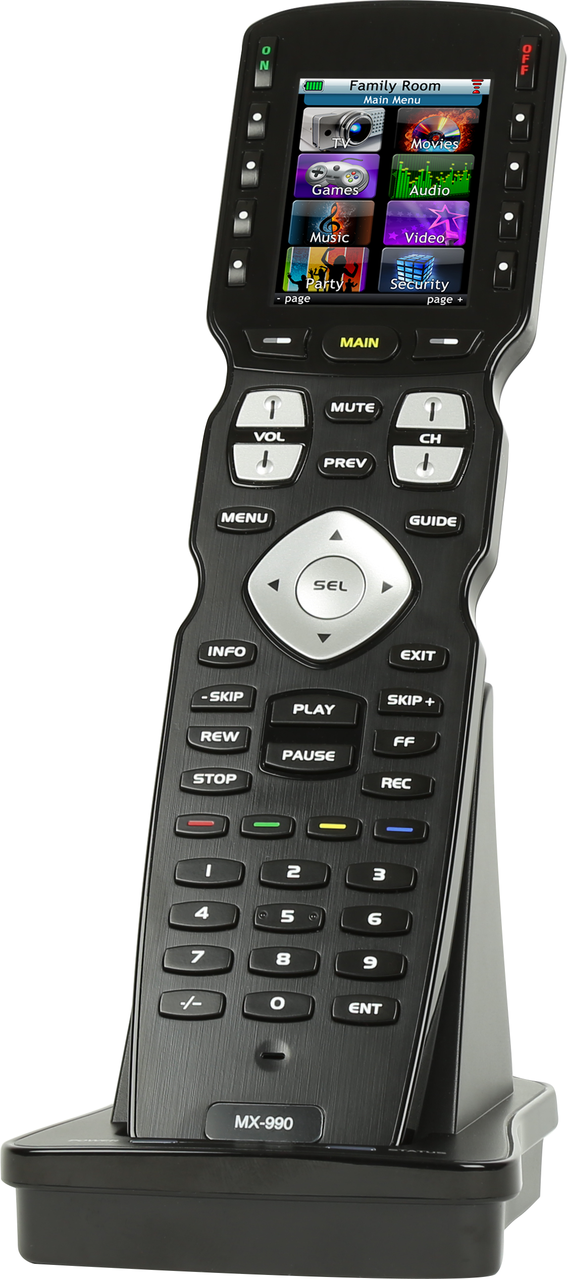 MX990 Universal remote system