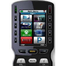 Home Theater Master Custom Programmed System Remote Control