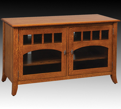 QWP 52-inch Amish TV Stand