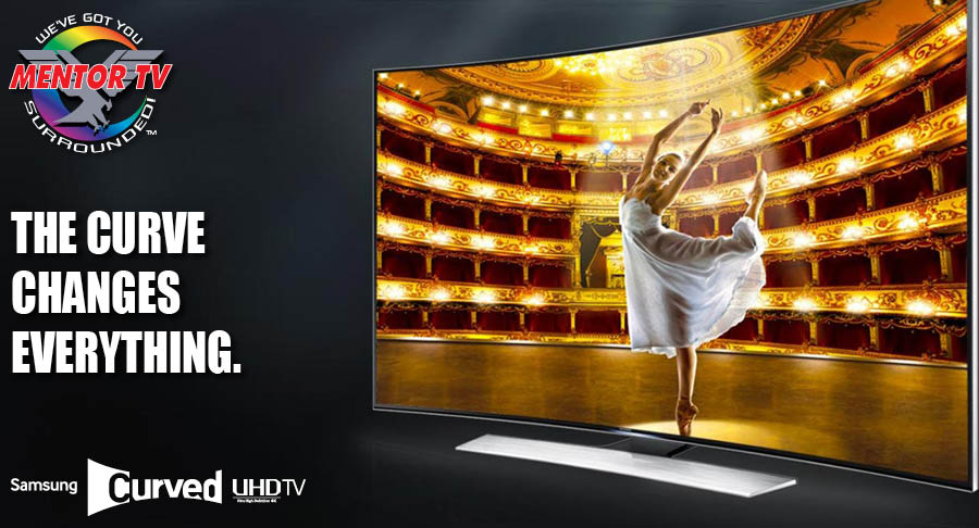 Samsung Curved 4K UHD SMART TV's