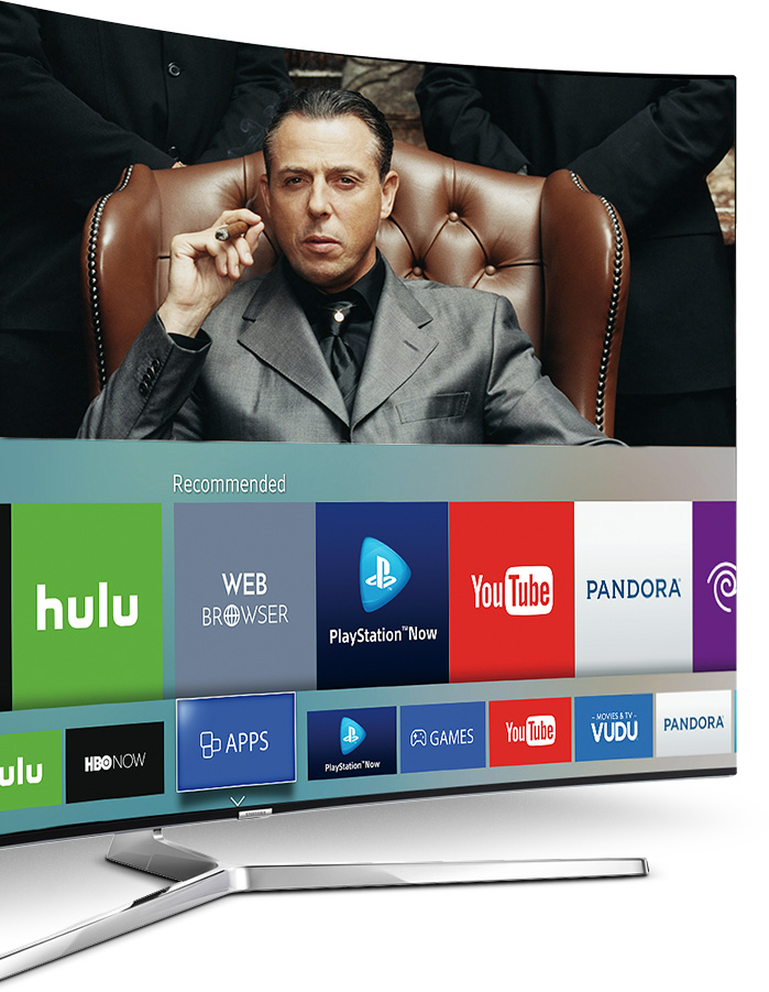 Samsung 4K Ultra HD TV Smart Hub Apps