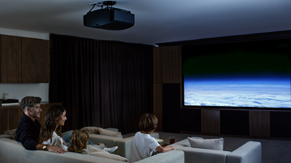 Home Theater System Featuring Sony Front Projector