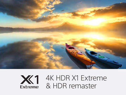 Sony 4K HDR Processor X1 Extreme